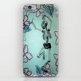 Dancing Bones iPhone Skin