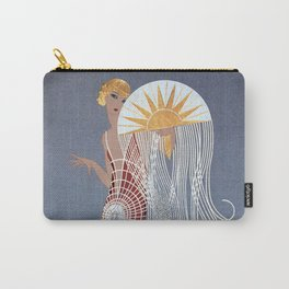 """1920's Art Deco Design """"The Flapper"""" Carry-All Pouch"""