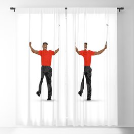 Tiger Woods Masters Champ (White) Blackout Curtain