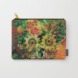 SKULL BOTANICA Carry-All Pouch