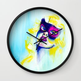 The Mask Wall Clock