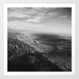 Edge of the Rockies Art Print