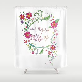 And they lived happily ever after... Shower Curtain