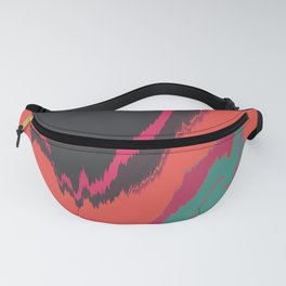 Glitched Retro Fanny Pack