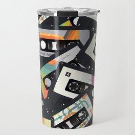 Retro Vintage Cassette Tapes Travel Mug
