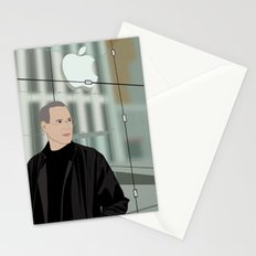 Steve Jobs on 5th Avenue Stationery Cards
