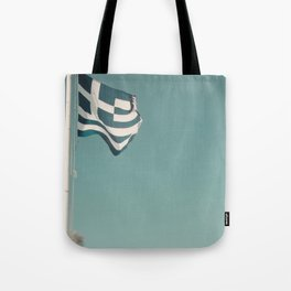Flying The Flag Tote Bag