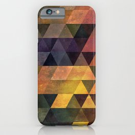 Graphic // isometric grid // chyynxxys iPhone Case