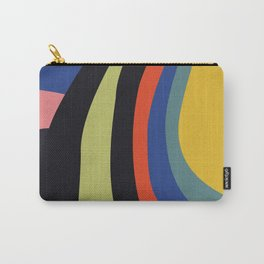 Abstract Stripes 69 Carry-All Pouch
