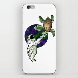 Space Turtle iPhone Skin