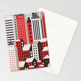 Urban city Stationery Cards