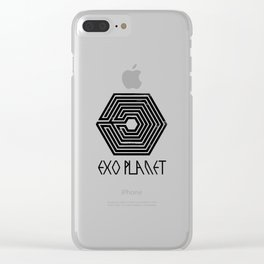 exo planet Clear iPhone Case