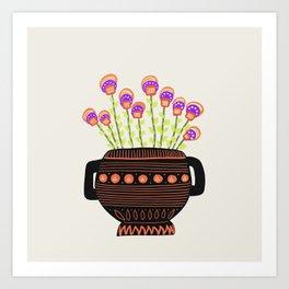 Floral vibes VIII Art Print