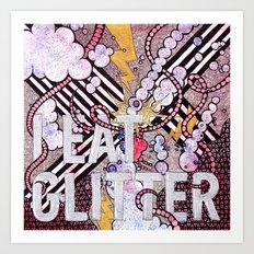 I Eat Glitter Art Print