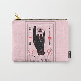 Le Diable or The Devil Tarot Carry-All Pouch