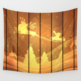 Christmas background Wall Tapestry