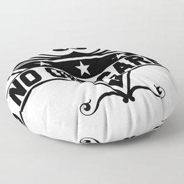 No one cares Floor Pillow