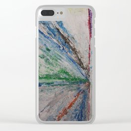 This Way Clear iPhone Case