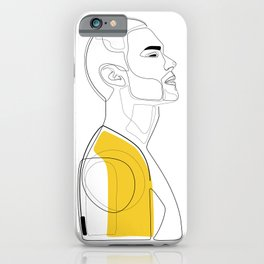 Suited in Mustard iPhone Case