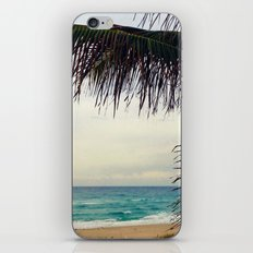 Sea and Palm  iPhone & iPod Skin