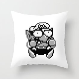Wario 1 Throw Pillow