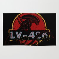lv Area & Throw Rugs featuring LV-426 by Crumblin' Cookie