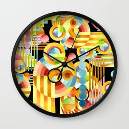 Art Deco Maximalist Wall Clock