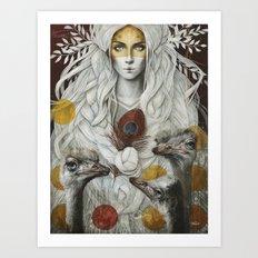 Omaelle Art Print