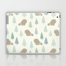 Merry Christmas Polar bear - Animal pattern Laptop & iPad Skin