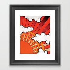 Red Ray Framed Art Print