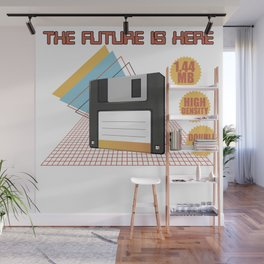 The future is here Wall Mural