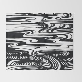 State Of The Climate Landscape Throw Blanket