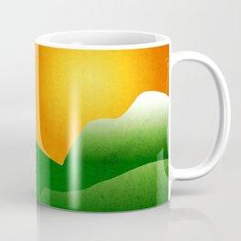 Mountain Sunrise Landscape Coffee Mug