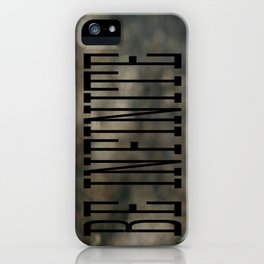 Be Infinate iPhone Case