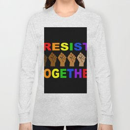 Resist Together BLM Long Sleeve T-shirt