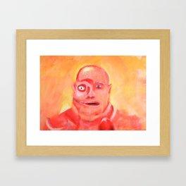 Still from painted Animation - Zobeide Framed Art Print