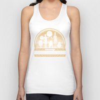 bar Tank Tops featuring Droid Bar by Doodle Dojo