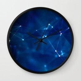 Molecular Mumbo Jumbo Wall Clock