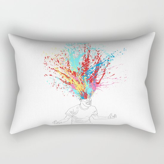 Scream Redux Rectangular Pillow