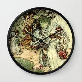 """Titania"" by Arthur Rackham From Shakespeare Wall Clock"