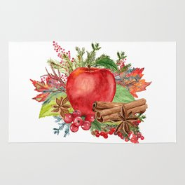 Apple Bouquet Rug