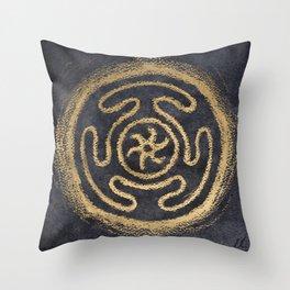 Hekate's Strophalos Throw Pillow