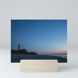 Mornings at the Lighthouse Mini Art Print