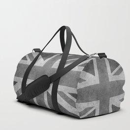 Union Jack Vintage retro style B&W 3:5 Duffle Bag