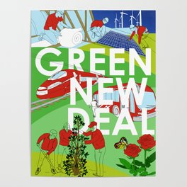 Green New Deal Poster