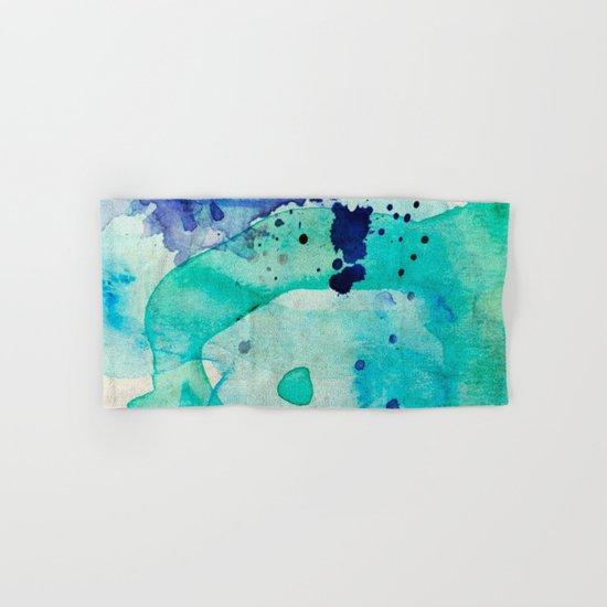 Pastel Color Splash 02 Hand & Bath Towel