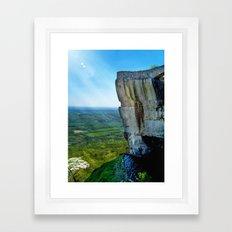 Lover's Leap Framed Art Print
