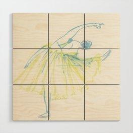 A Ballerina Wood Wall Art