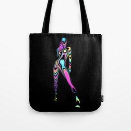 Super Fluro Woma Tote Bag