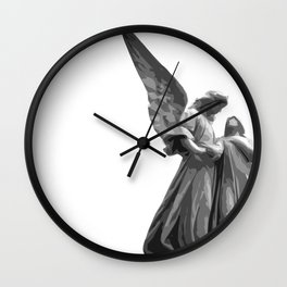 Angel Statue Wall Clock